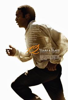 Theatrical poster for 12 Years a Slave, Copyright © 2013 by Fox Searchlight Pictures. All Rights Reserved.