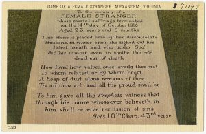 Gadsby's Tavern and the Tomb of the Female Stranger - Photo