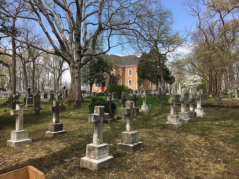 Graveyard of Aquia Church